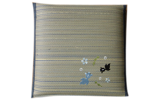 刺绣三层棉垫子T-039